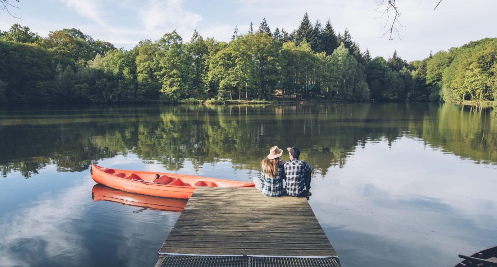 canoë lac Senonches