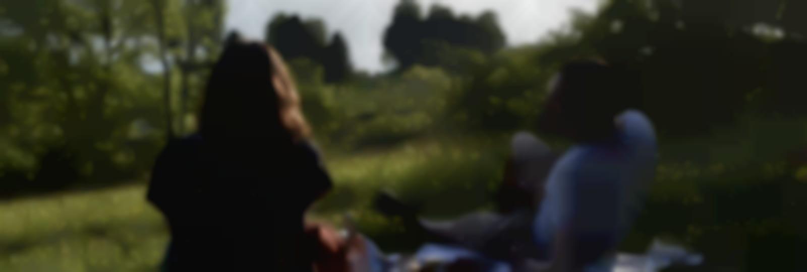 Pique-nique sur les coteaux de Mézières-Ecluzelles (1)