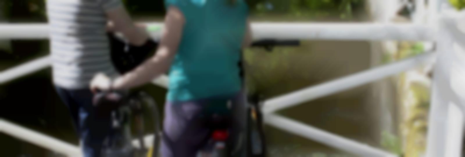 A vélo entre les eaux