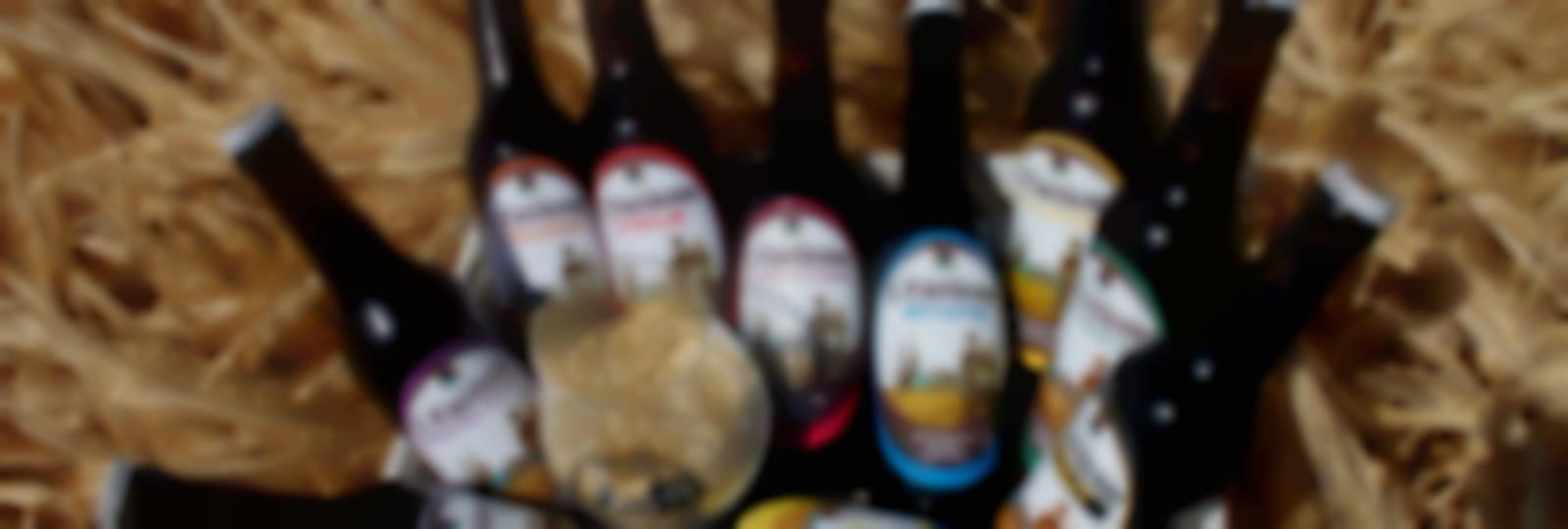Gamme de bières  - Crédit photo Brasserie de Chandres - L'Eurélienne