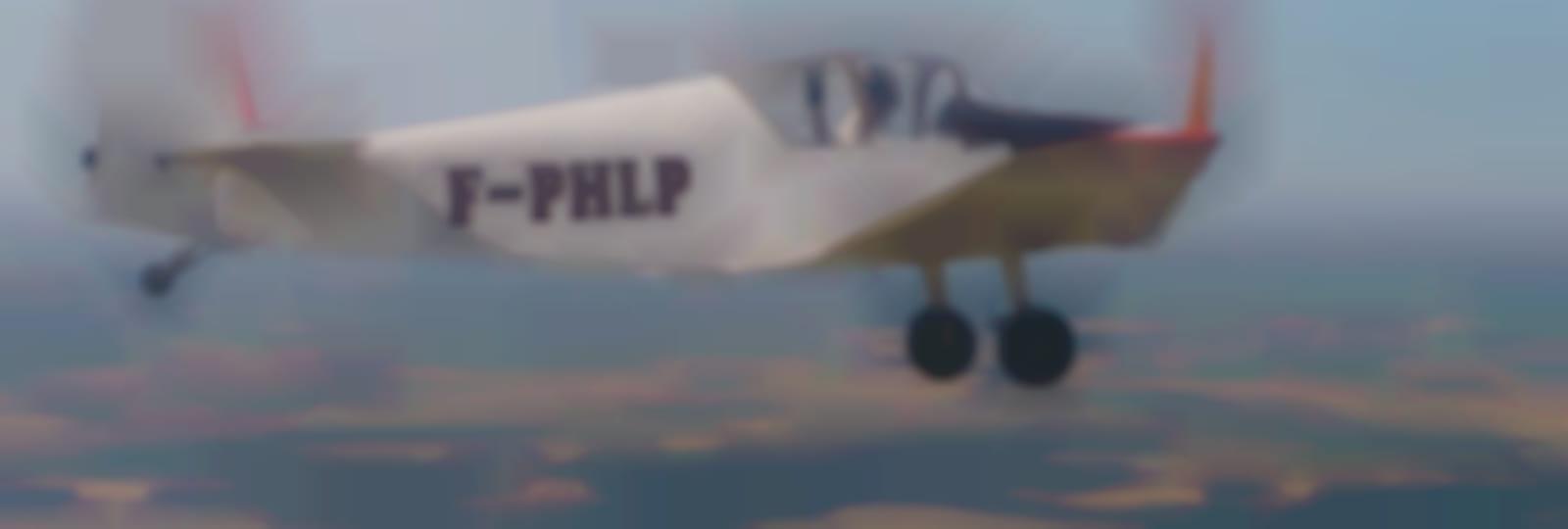 Le Jodel en vol