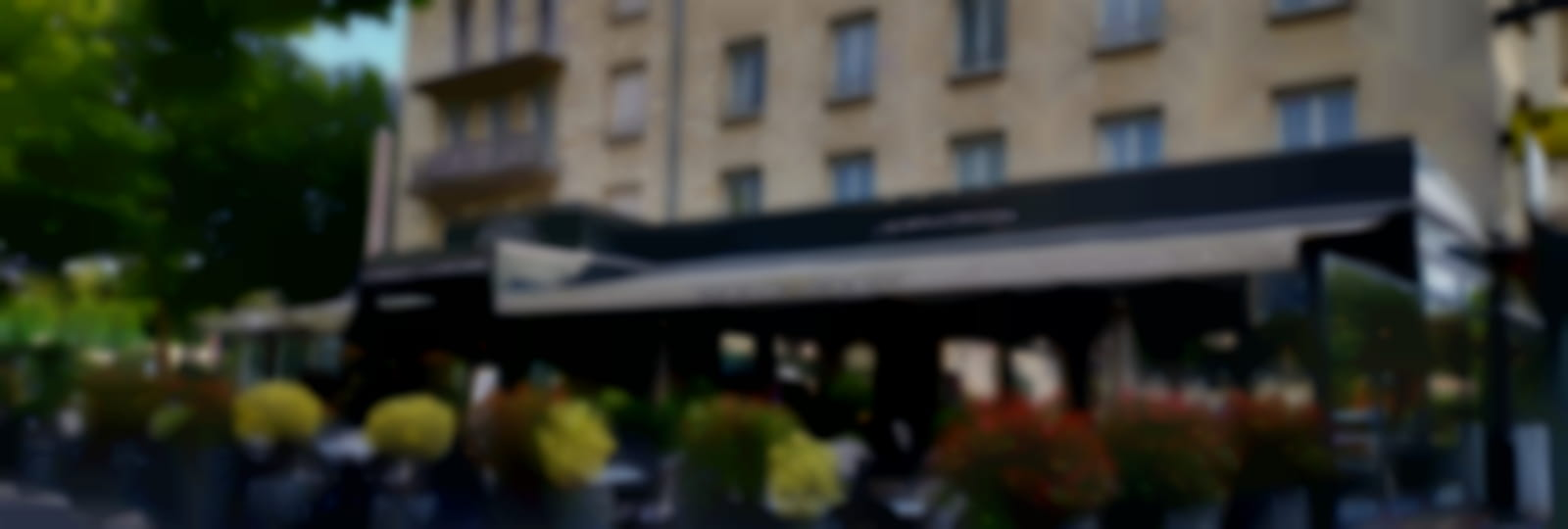 Façade Hôtel Le Boeuf Couronné
